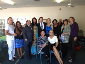 JDOGG Lederman Celebrates With The SEVA Honorees